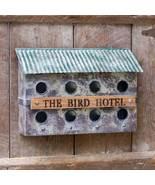 Rustic Birdhouse - Wall-Mounted Bird House - Free shipping - $59.99
