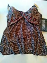 Miracle Suit Bronze Brown Myrra Swim Top Size 10 image 1