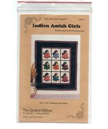 1992/Indian Amish Girls/UNCUT QUILT Pattern - $3.99