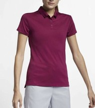 Nike Golf Dri-Fit PGA Tiger Style Polo True Berry Colorway 884871-627 Large $55 - $44.10