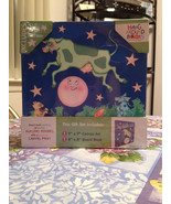 Hey Diddle Diddle Board Book & Keepsake Canvas Wall ART Gift Set New Sea... - $19.99