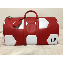 Louis Vuitton x 2018 FIFA World Cup Russian LE Keepall Red Bandouliere 50 Bag - $4,975.25