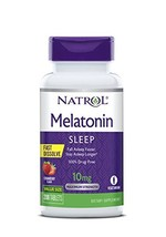 Natrol Melatonin Fast Dissolve Tablets, Strawberry flavor, 10mg, 200 Count - $24.71