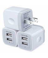 3 Pack Ailkin Wall Charger Plug Power Adapter Replacement for IPhone Sam... - $16.79