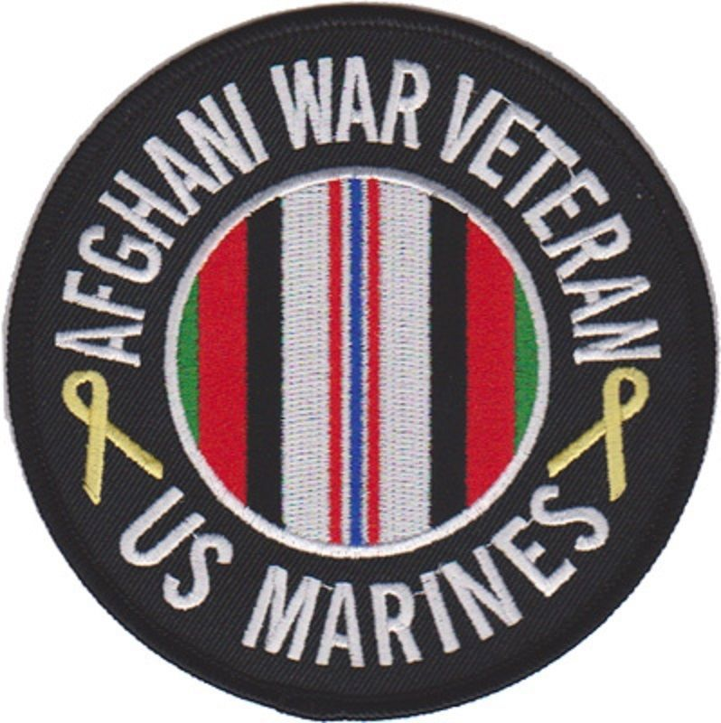 USMC AFGHANI WAR VETERAN PATCH - $1,000.00