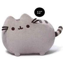 "Gund PUSHEEN CAT Grey 12"" PLUSH Toy Doll - $22.27"