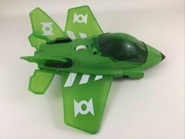 "Imaginext Green Lantern Jet Plane 13"" DC Super Friends with Light Sounds... - $24.70"