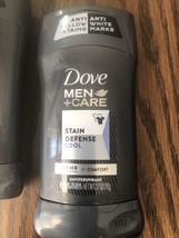 Dove Men+Care Antiperspirant Deodorant Stick Stain Defense Cool 2.7 - $9.41