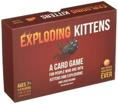Exploding Kittens Plastic Manufacture Sealed Card Games For Teens Adult ... - $18.99