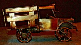 Brass Antique Truck Decor AA20-2069 Vintage Collectible image 2