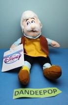 "Walt Disney Store And Parks Mini Bean Bag Gepetto Pinocchio 8"" - $9.89"