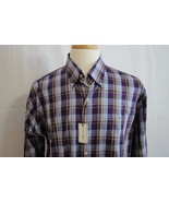 Peter Millar Men's Long Sleeve Cotton Button Down Dress Shirt size L New - $64.34