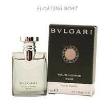 Bvlgari Pour Homme Eau De Cologne Soir, Mini Cologne Spray  0.17oz 5ml  - $14.90