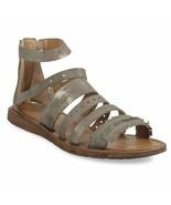 Miz Mooz Leather Multi-Strap Sandals - Flora Sage EU 42 - £113.40 GBP