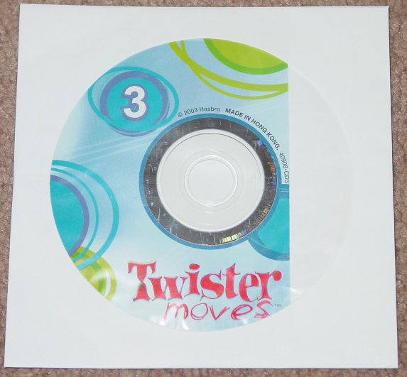 """CHOICE Replacement Part 30/"""" x  30/"""" Mat or Music CD for Twister Moves Game"""