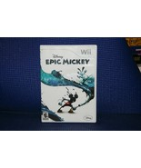 Disney Epic Mickey for Nintendo Wii - VG - Complete - See Pix - $6.13