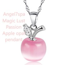 Magic Lust passion, love spell , good luck  Apple Pink Opal necklace spe... - $80.00