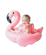 Inflatable Float Swimming Aids Pool Flamingo Swim Ring Pink Bird Floatie... - £15.45 GBP