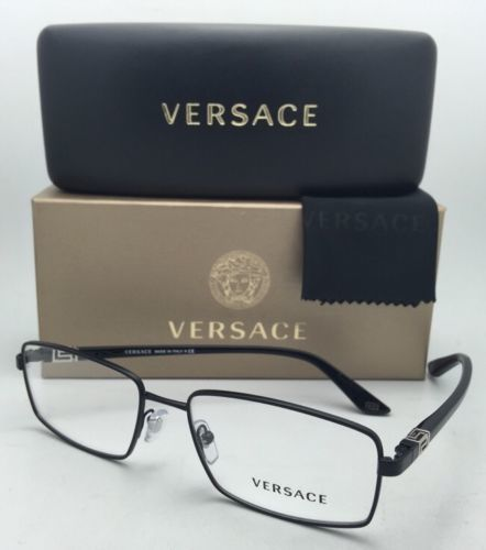 03f776f40f7 New VERSACE Eyeglasses 1198 1261 55-17 Black and 50 similar items