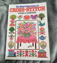 Nihon Vogue The Best Collections of Cross Stitch Designs & Handiwork Pap... - $12.18