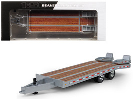Beavertail Trailer Silver 1/50 Diecast Model by First Gear - $48.08