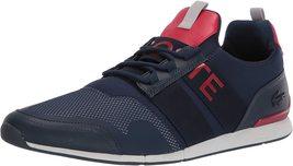 Lacoste Men's Premium Sport Menerva Elite 120 CMA Textile Sneakers Shoes image 4