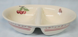 Pfaltzgraff Delicious Divided Oval Serving Bowl - $28.60