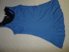 Nike Flouncy Knit Dress 523360-402 Blue Navy Size L - $37.99