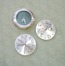 Watch Faces with Movements Vintage Dials Parts - Altered Art & Craft Supply - $9.89