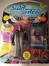 Playmates Toys Star Trek The Next Generation Klingon Warrior Worf New 19... - $16.82