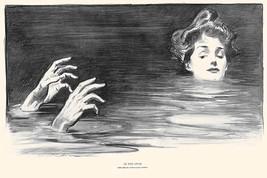 In the Swim by Charles Dana Gibson - Art Print - $19.99+