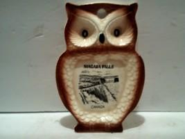 Ceramic Kitchen Owl, Souvenir Niagara Falls Canada, Made in Japan, 1960s - $13.37