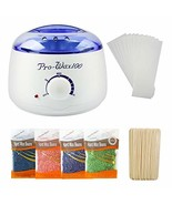 LIDDY Wax Warmer Hair Removal Waxing Kit for Women and Man - Include 4 S... - $23.87