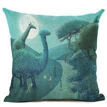 18inch 90g Fashion Cotton Linen Fabric Throw Pillow Hot Sale 45cm Cartoo... - €8,71 EUR