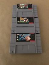 Super Nintendo Games / Black Bass, Ken Griffey, Play Action Football / L... - $15.54