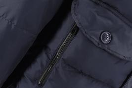 Men's Heavy Weight Warm Winter Coat Puffer Faux Fur Trim Sherpa Lined Jacket image 13