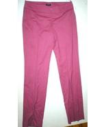 Womens Worth New York Dark Pink Pants Heather Gray Slacks Office Work 6 ... - $254.25