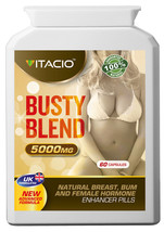 Busty Blend 5000 Estrogen Breast Enlargement 60s Pills - $25.16+