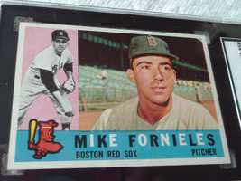 1960   TOPPS  # 54    MIKE  FORNIELES    SGC  84    RED SOX   BASEBALL   !! - $32.99