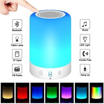 Bluetooth Speakers,POECES Hi-Fi Portable Wireless Stereo Speaker with Touch - $37.49