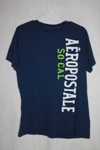 Aeropostale SO CAL Womens Graphic T-Shirt Medium Dark Blue - $9.03