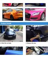78.7in x 15.7in Car Styling 4D Carbon Fiber Vinyl 3M Waterproof DIY Wrap ! - $39.95