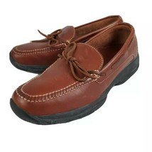 Cole Haan Men's Brown Leather Driving Loafer Size 9 M 7340 Moc Toe Boat ... - $32.99