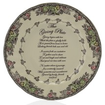 Johnson Brothers Friendly Village Scalloped Edge Hand-Finished Giving Plate NIB - $39.59