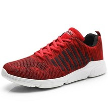 Men Running Shoes Breathable Outdoor Non-Slip Comfortable Mesh Athletic Sneakers image 2
