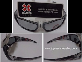 X Games Sunglasses NWT Shatter Resistant 100% UVA UVB Sz Small Ages 3+ - $10.99