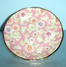 Royal Albert Vintage Florals Peach Tea Saucer New - $17.99