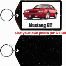 1982 Ford Mustang Gt Photo KEYCHAIN-FREE Usa Ship - $11.87