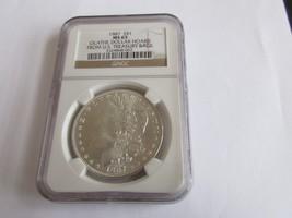 1887 Morgan Silver Dollar , NGC , MS 65 , Olathe Dollar Hoard , Beautiful Coin - $250.00