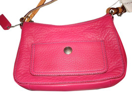 NWT - Coach Chelsea Demi Bag with Pebble Grain Leather (Fushia) [FS8E96] - $125.00